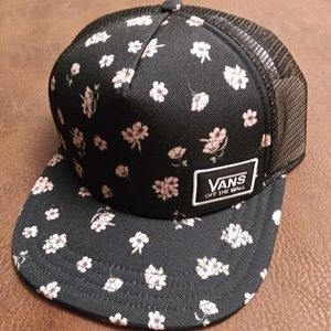 074ea016b0d ... Hat  NEW  Vans Beach Bound Floral Snapback Meshed ...